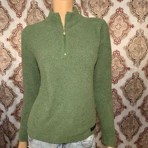 The Greenbrier Soft Green Pull Over Top